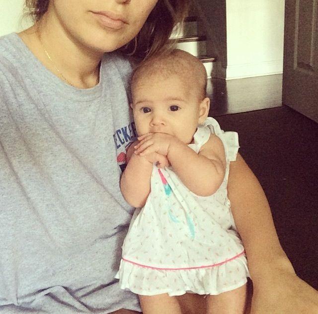 jessie james decker with baby vivi eric and jessie