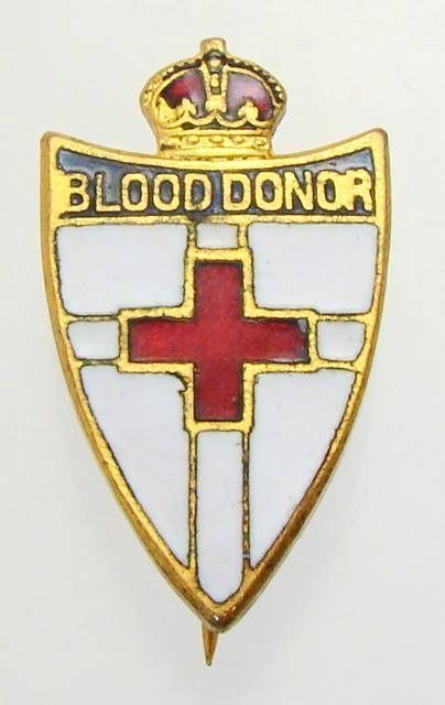 Australian Red Cross Blood Donors Badge, Early Pin | Brooch/Badge ...