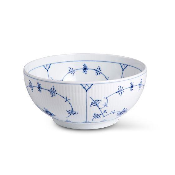 Royal Copenhagen Blue Fluted Plain Bowl, 180 cl