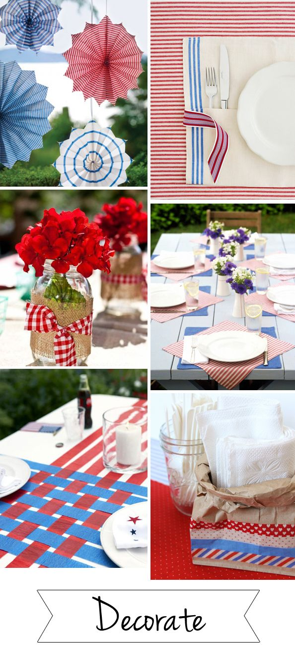 Best 25 memorial day decorations ideas on pinterest 4th for Memorial day weekend ideas