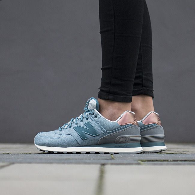 """Women's Shoes sneakers New Balance """"Rose Gold Pack"""" WL574AEC"""