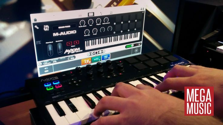 Getting Started Making Music with Ignite Music Software feat Air Mini 32 #maudio #midicontroller #keyboardcontroller #keyboard #megamusic #megamusicmyaree