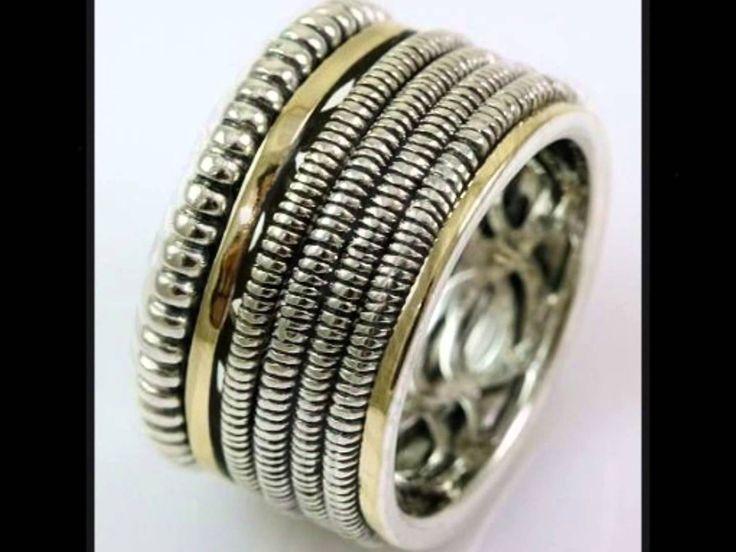 Regal Gold - Colectia de  inele argint in combinatie cu aur 9k