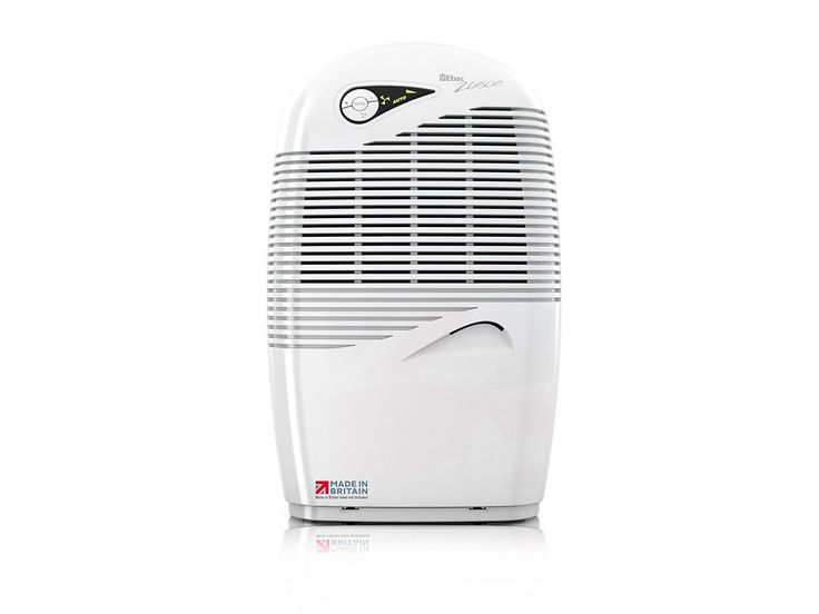 Ebac 2650e 18 Litre Dehumidifier for Condensation, Damp and Mould with Smart Auto-Function, Laundry Boost and Air Purification Mode, Free 2 Year