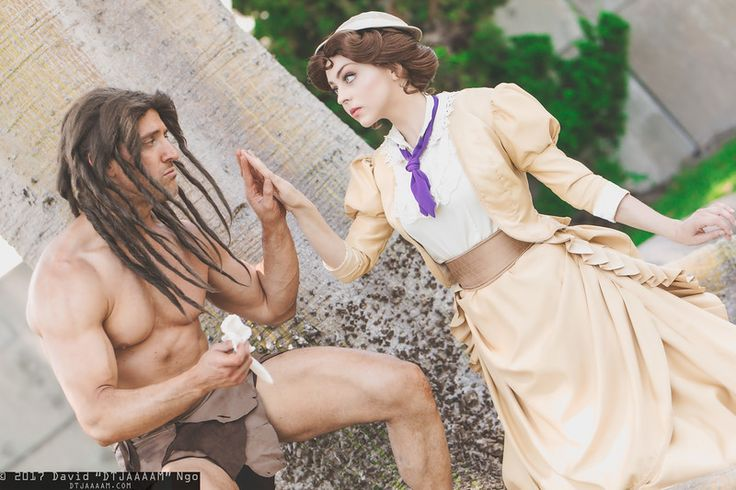 Tarzan and Jane (Disney) | SDCC 2017 #Cosplay Photo by DTJAAAAM