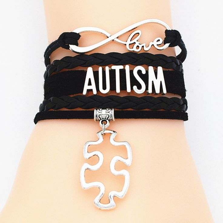 custom name colors Autism puzzle Bracelet Puzzle Piece Autism Awareness bracelet