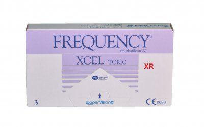 FREQUENCY XCEL XR Toric 3pack - 54.00€ - Μαλακός φακός επαφής με τον αστιγματισμό στην πίσω επιφάνεια του φακού. Καλύτερη και σταθερότερη οπτική οξύτητα. Εξαιρετικά άνετος, λόγω των λεπτών άκρων. Για στιγματισμούς πάνω από -2.25 έως -3.75.