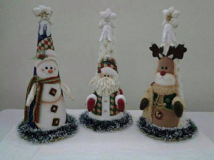 Conos navideños