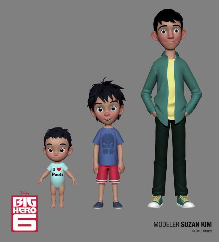Character Design Zbrush : Disney big hero and feast zbrush characters d digital