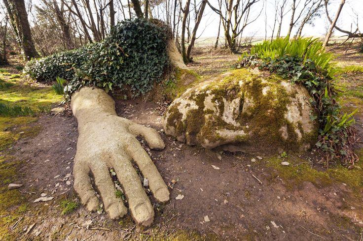 Lost Gardens of Heligan, Pentewan, Cornwall