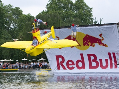 Participate in the Red Bull Flugtag