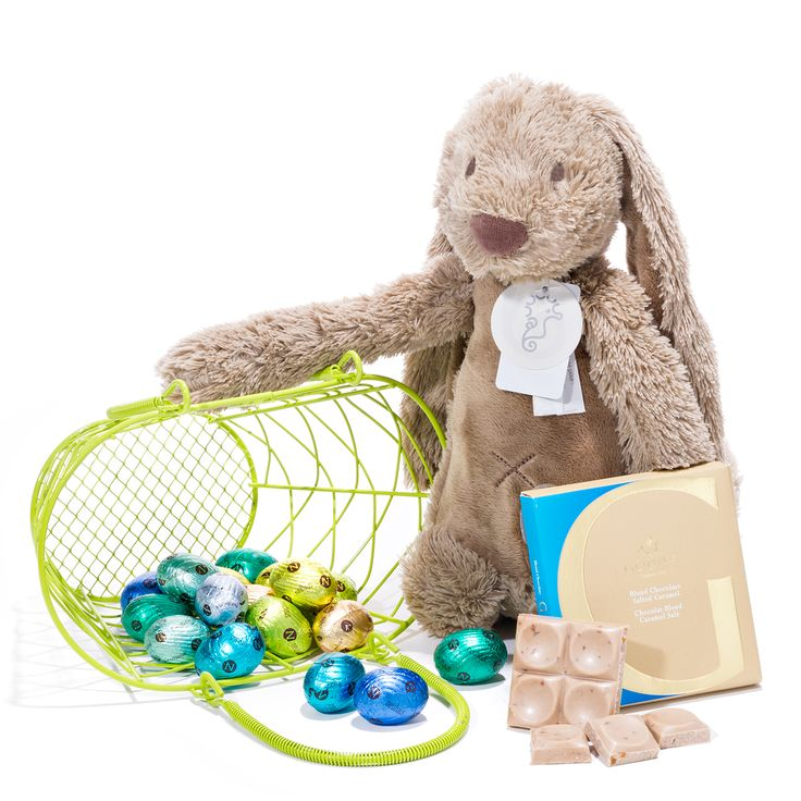 104 best easter gift baskets belgian chocolates images on happy easter fun gift basket negle Image collections