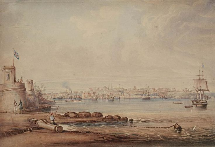 A View of Sydney Cove, New South Wales, c1840