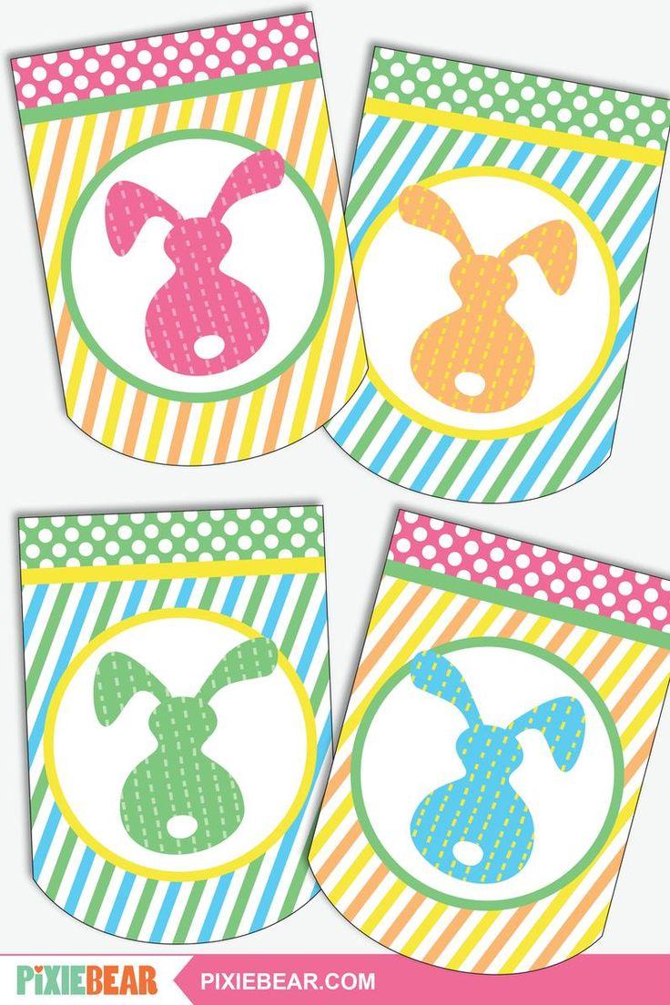 Printable Easter Banner, Easter Egg Hunt Banner, Happy ...