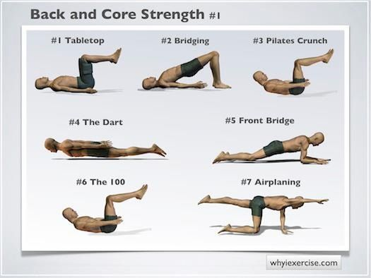 102 best sciatic lower back pain images on pinterest exercises to strengthen lower back and core back strengthening exercises support your spine and have a total body sciox Images