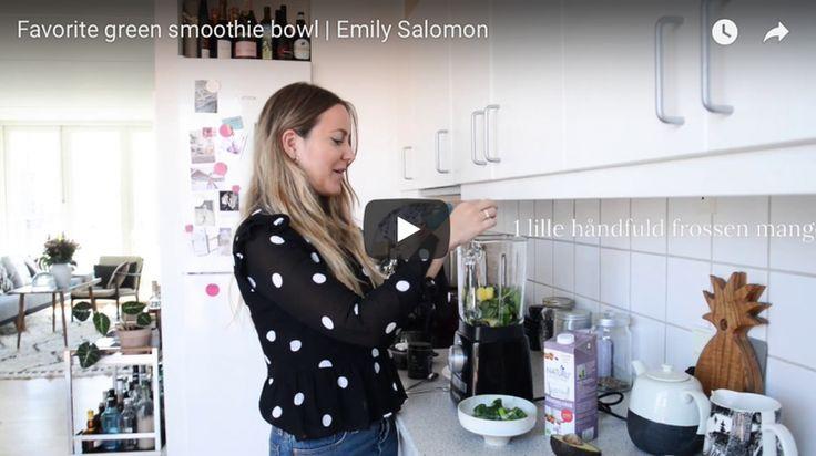 Video: Min grønne smoothie