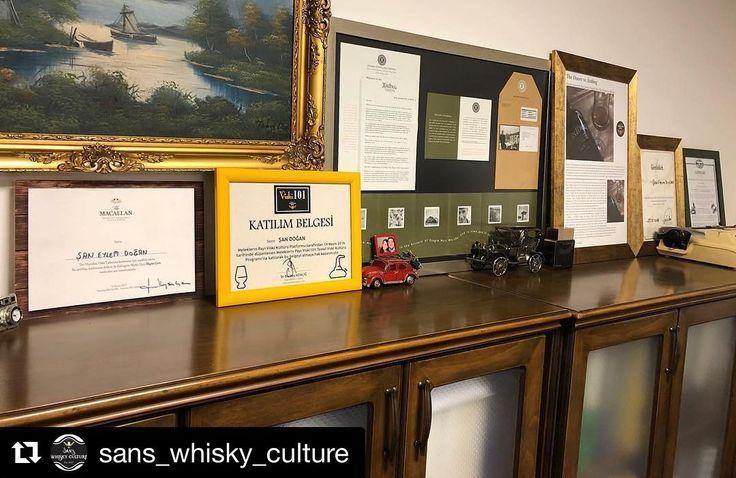 Bu #tbt de İzmir'li sıkı bir takipçimden #repost olarak gelsin. #Viski101 atölyeme katıldıktan sonra katılım belgesini çerçeveleten sevgili Şan daha sonra da The Doors ile ilgili bir yazısıyla konuk yazar olarak siteme katkıda bulunmuştu. Her ikisini de ofisinde görmek çok güzel #Repost @sans_whisky_culture (@get_repost)  Viski bir tutkudurbir katalizördür... Tüm ülkelere girişi olan bir pasaport gibidir viski... Bu yola çıktığım ilk günden beri müthiş insanlar tanıdımtanımaya da devam…