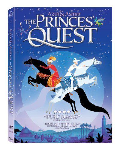 Azur and Asmar: The Princes' Quest DVD ~ Sean Barrett, http://www.amazon.com/dp/B001DJ7PY6/ref=cm_sw_r_pi_dp_RkX4sb1J5SCP7