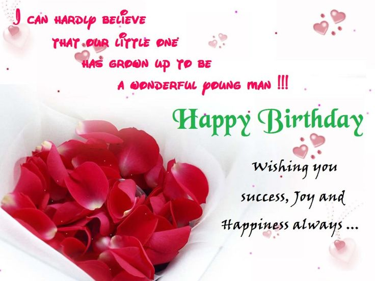 Happy Birthday Cards For Boyfriend With Images Birthday Images Sweet Happy Birthday Wishes For Him