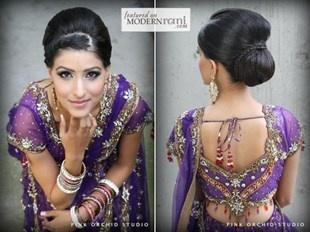 Indian wedding hair
