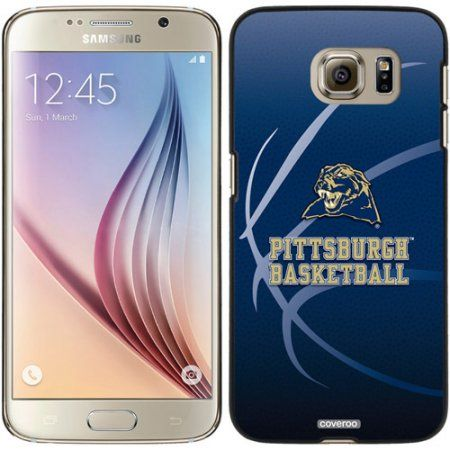 University of Pittsburgh Basketball Design on Samsung Galaxy S6 Snap-On Case