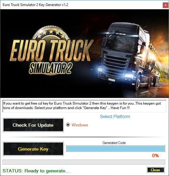 Euro Truck Simulator 2 Activation Key Generator v1 2 | My