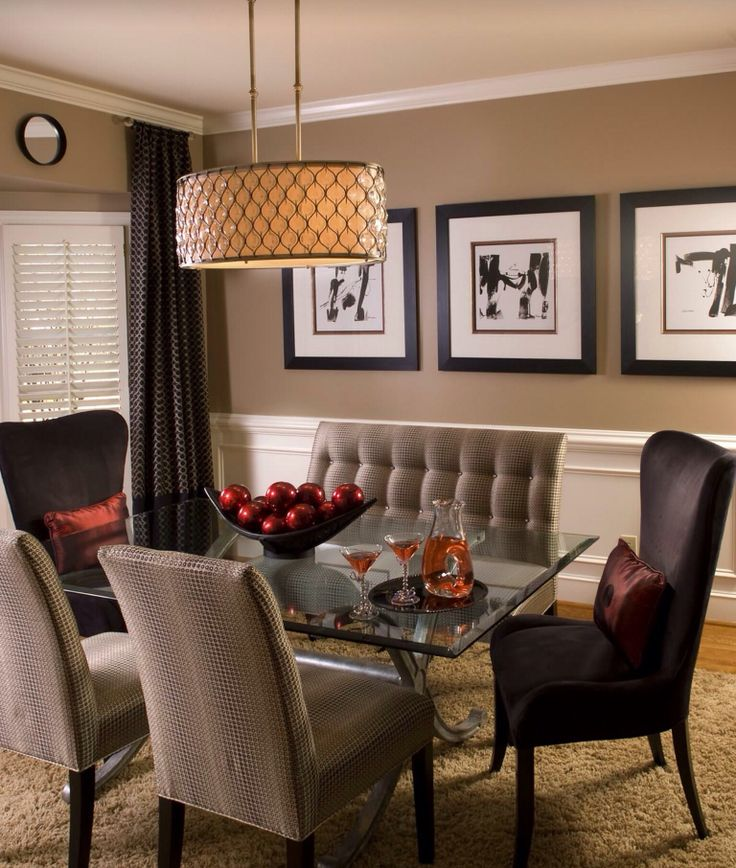 [ Dining Room With Dark Soft Neutral Color Scheme Fresh Paint Ideas For  Colors Angies List ]   Best Free Home Design Idea U0026 Inspiration Part 50