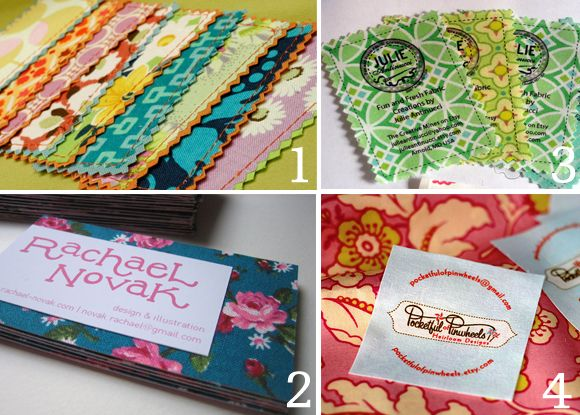 33 best homemade business cards images on pinterest carte de fabric business cards textile business cards cards etsy handmade diy colourmoves