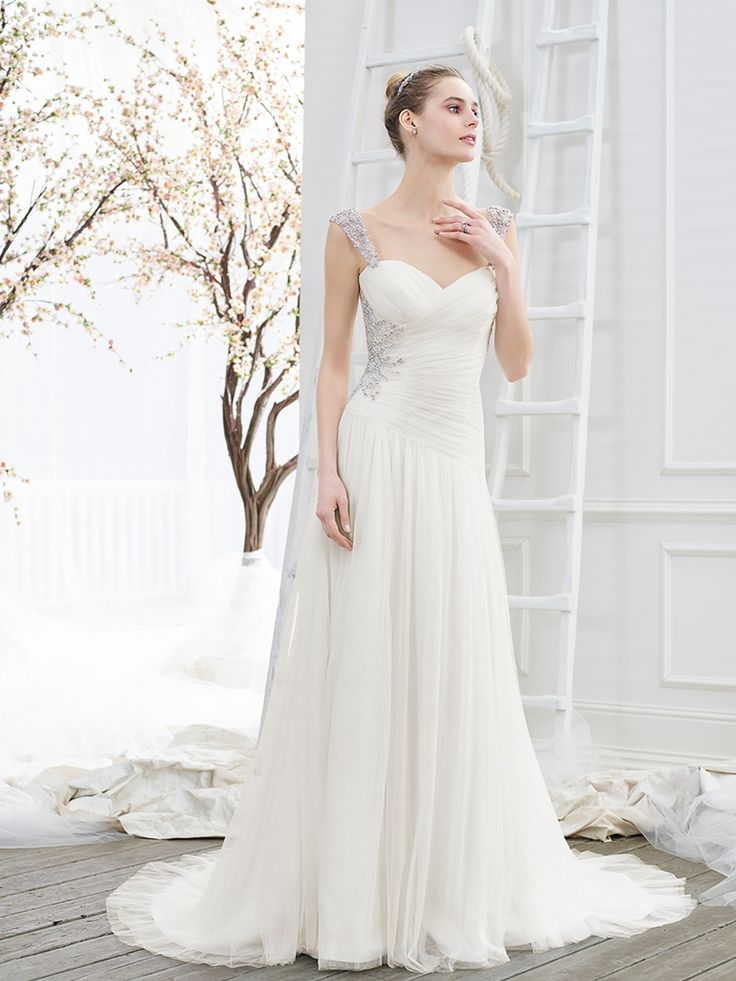 183 best Ruched and draped wedding dresses images on Pinterest