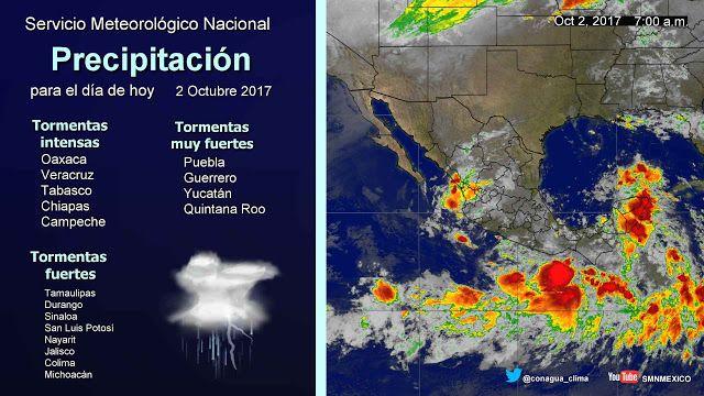 Periodismo sin Censura: Pronóstico Meteorológico General 02 de Octubre del...