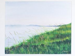 Limited Edition Digital Fine Art Print, 11 X 14, Saskatchewan River Bank, Signed and Numbered by Jen Unger. by JenUngerFineArts on Etsy
