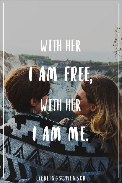 With her I am free, with her I am me – VISUAL STATEMENTS