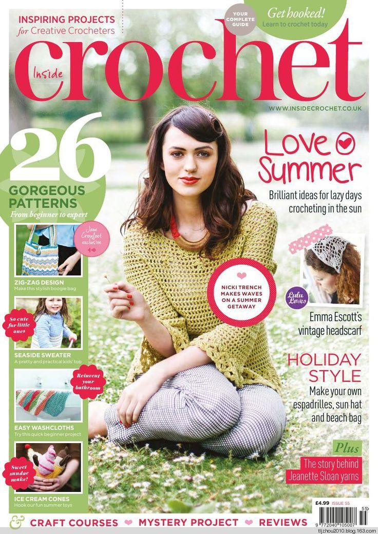 Inside Crochet №55 2014 - 紫苏 - 紫苏的博客