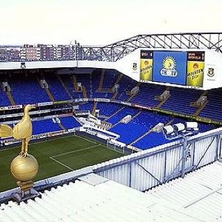 White Hart Lane - Home to Tottenham Hotspur FC