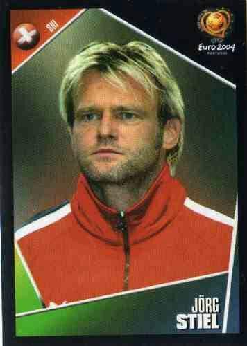 Jorg Stiel of Denmark. Euro 2004 card.