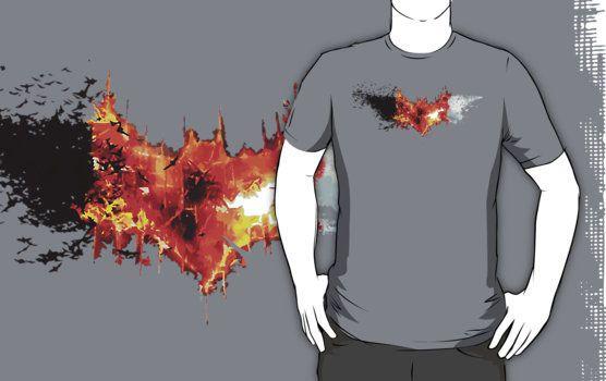 The Dark Knight Trilogy T-shirt Design