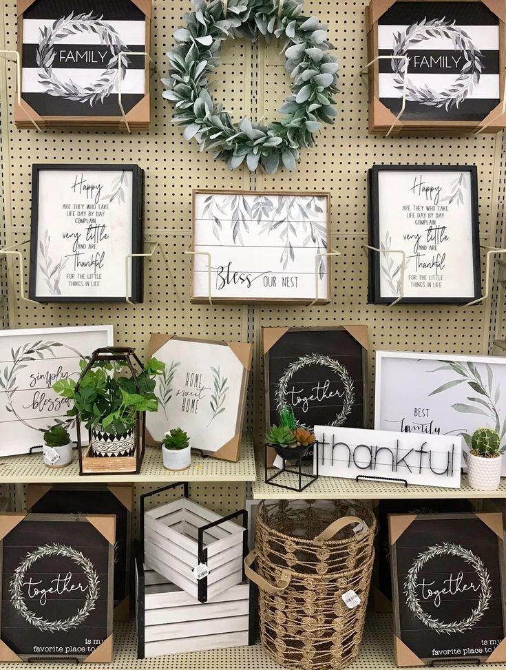 Hobby Lobby Merchandising Tisch zeigt Arbeit – Home