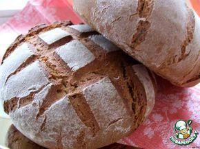 """Советская закваска для ржаного хлеба и """"Столовый"""" ржаной хлеб ингредиенты"""