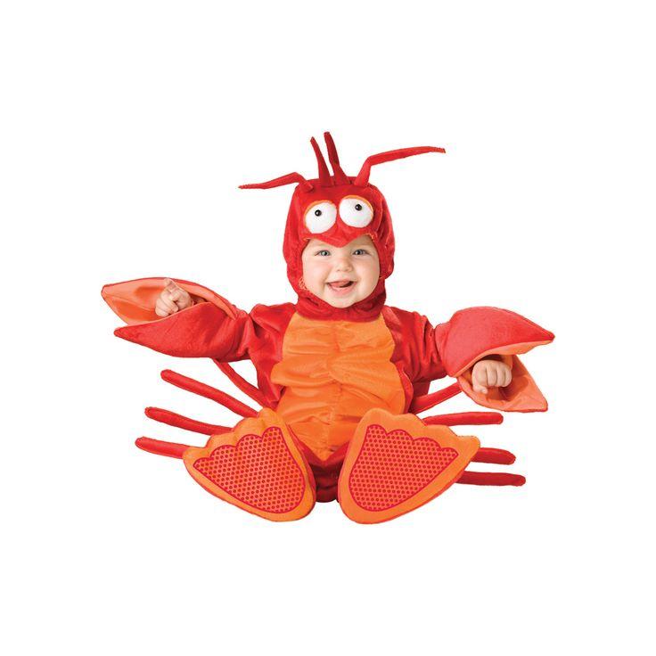 INCHARACTER COSTUMES REF: 6025 LANGOSTA BEBE - Incluye traje especial para que cambies el pañal de tu bebe fácilmente, cola, gorrito con antenas y ojos y botines antideslizantes. PRECIO COLOMBIA: 150.000