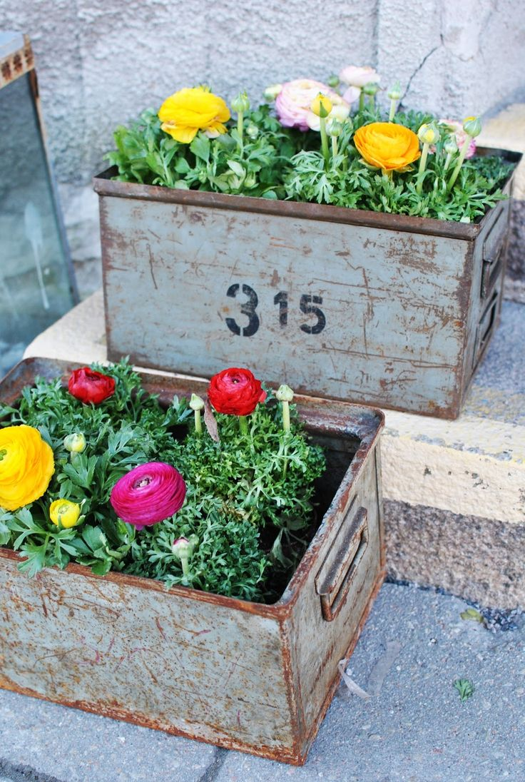 Planter Boxes Planters And In The Corner On Pinterest: 25+ Best Ideas About Metal Planter Boxes On Pinterest