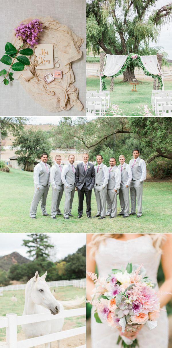 Al Fresco Saddlerock Ranch Wedding