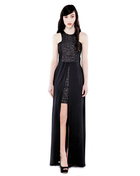 Dress - Eileen Kirby - She Said Sequin - Black - Formal Dress - Graduation Dress - Evening Dress - Bridesmaid Dress - Australian Fashion - Australian Designer  $759.90