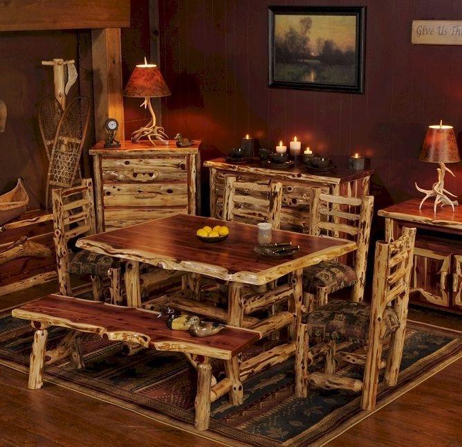 Log Dining Room Tables: Best 25+ Cedar Furniture Ideas On Pinterest