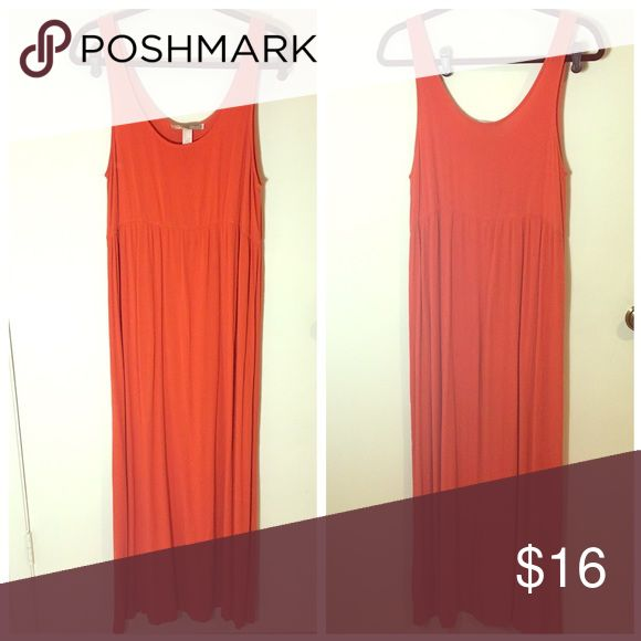 Orange beach dress Beachy bright orange maxi dress. Forever 21 Dresses Maxi