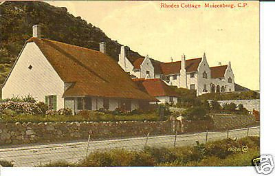 Rhodes Cottage Muizenberg CP Old South Africa Postcard