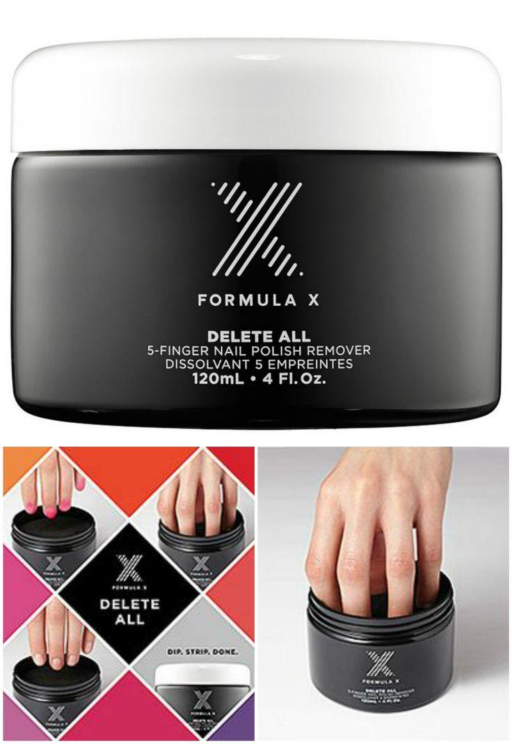 Formula X for Sephora Delete All 5 Finger Nail Polish Remover 4 Oz