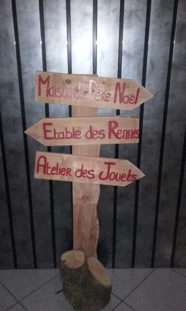 Panneau noel