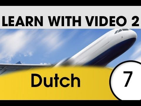 Learn Dutch with Pictures and Video - Getting Around Using Dutch - YouTube