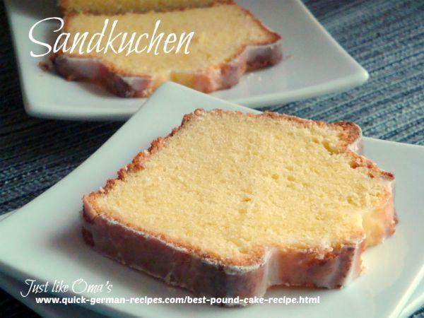 Best Pound Cake Recipe Made Just Like Oma