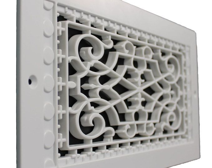 Victorian 6 X 30 Wall Mount Grille Vent With Images Wall Mount Unique Items Products Victorian